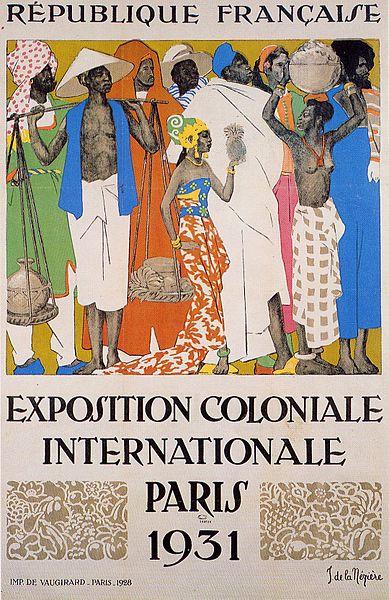 Колониальная выставка Париж 1931