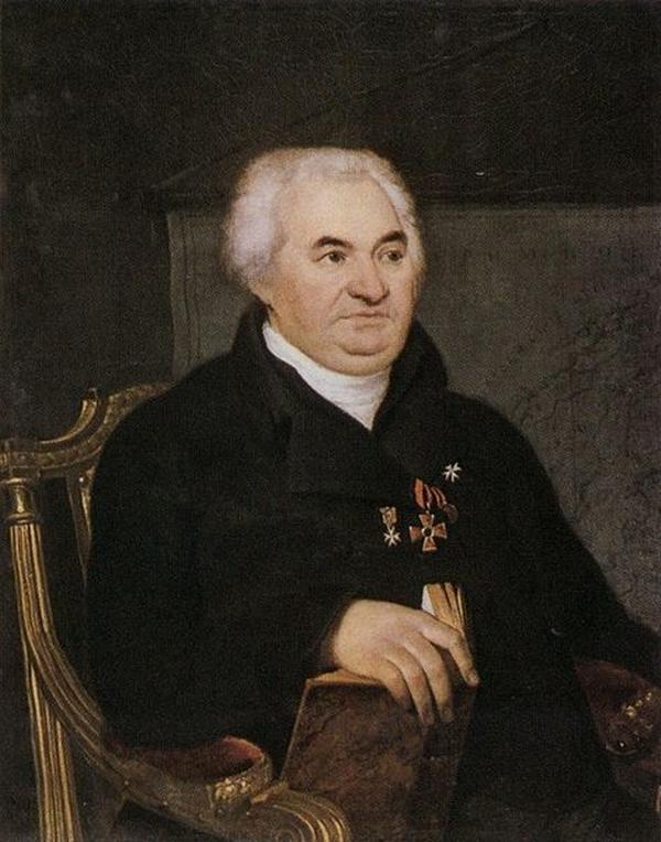 Кусов Иван Васильевич 1808 Кипренский Рус муз