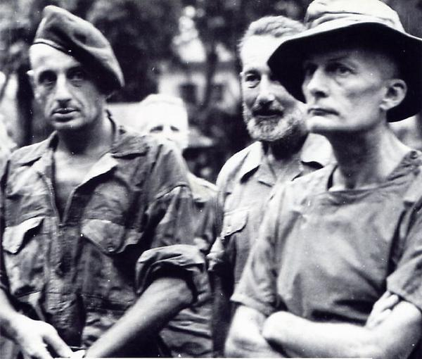 Бижар майор Вуано полк Ланглэ сент 1954