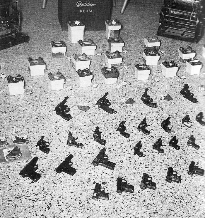 Трофеи 3 ПКП февраль 1957