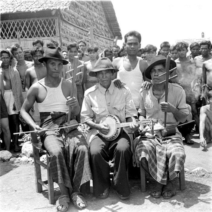 Лагерный оркестр май 1952