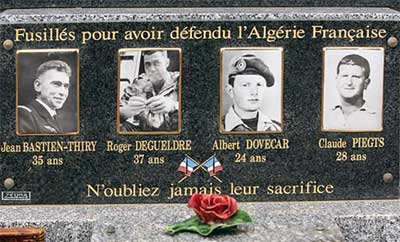 Памятник кладбище Безие