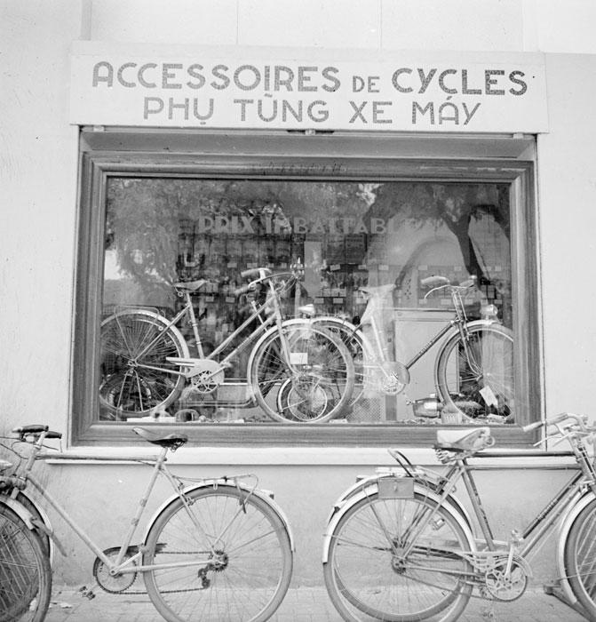 Витрина магазина прод вело 1950 Неиз