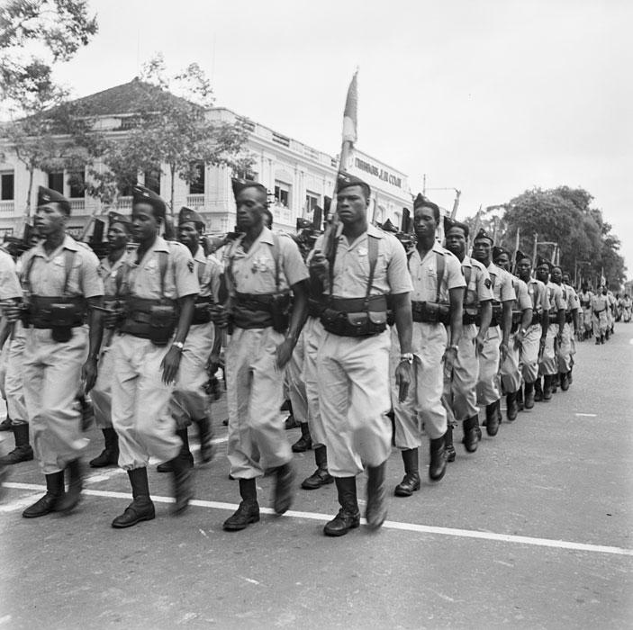 Марш батальон сен стрелков июль 1950 неиз