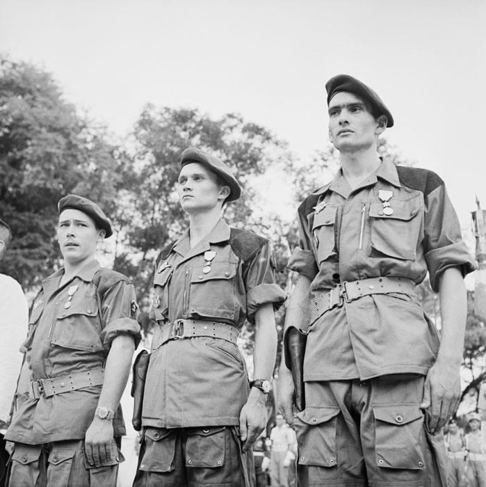 Парашютисты 5 кол бат пар командос июль 1950 неиз