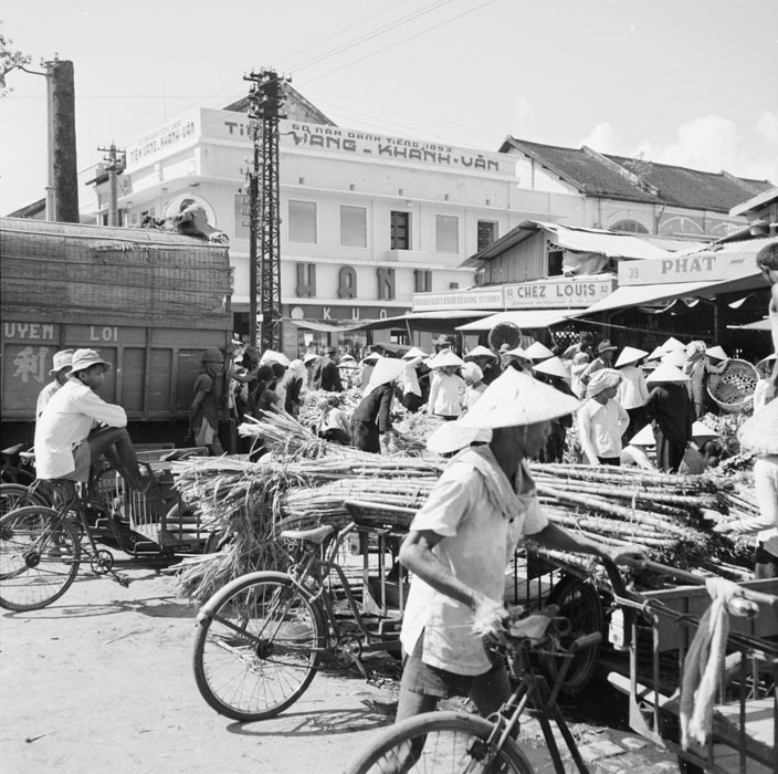 Рынок сахарного тростника сент 1953 Ж Лирон