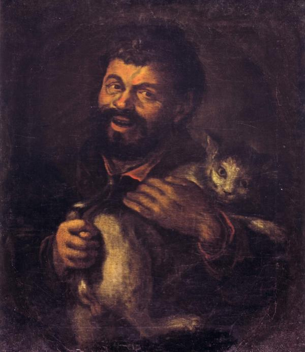 Мужик с котом рубеж 17 18 в Неиз Рус муз2