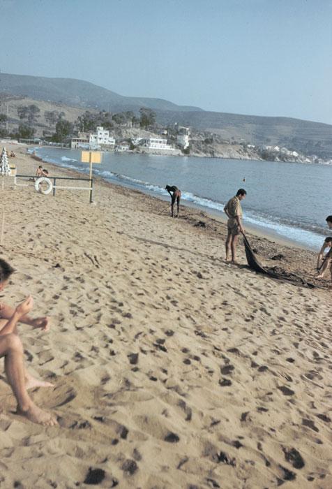 Пляж дома отдыха Синонё