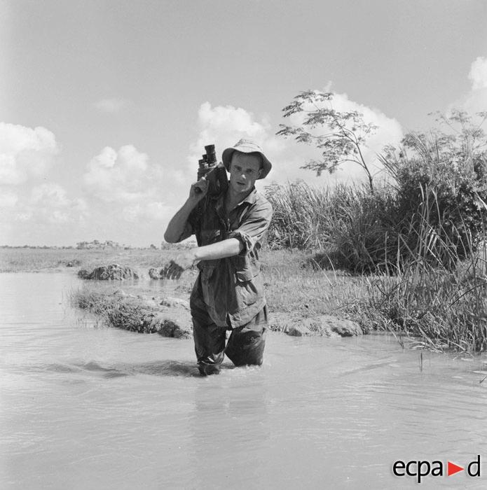 Шендерфер во время операции Клод 1 сент 1953 Жан Перо