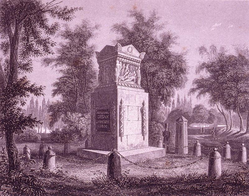 памятник Дезе гр 1952