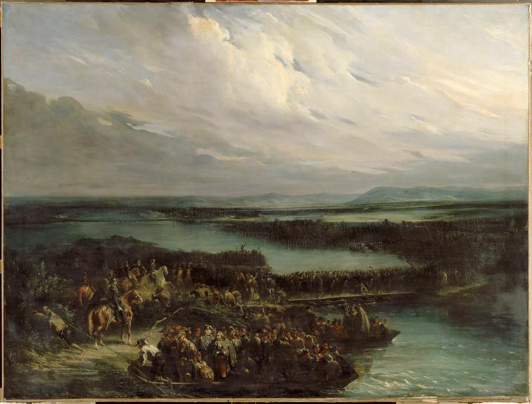 Переход Рейна  фр армией  у Келля под ком Дезе и Моро 26 июня 1796 19 в Н Т Шарле Версаль