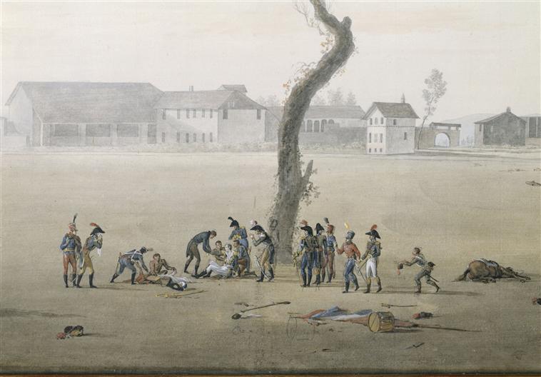 Смерть генерала Дезе в битве при маренго 14 июня 1800 19 в П Морель  Версаль