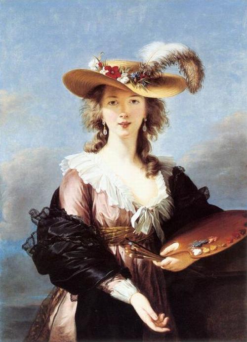 Виже Лебрен 1782 после  Автопортрет