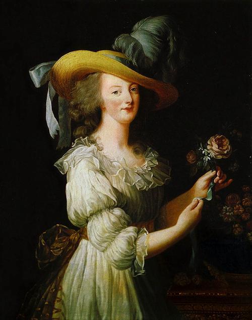Мария Антуанетта 1783 Виже Лебрен