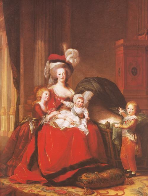Мария Антуанетта 1787 Виже Лебрен