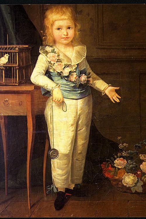Людовик Шарль играющий в йо-йо 1789 Виже лебрен Музей Иск и ист Оссер2