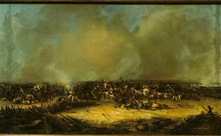 Панорама битвы при Москве реке 7 сент 1812 1835 1839 Ж-Ш Лангле Муз армии5
