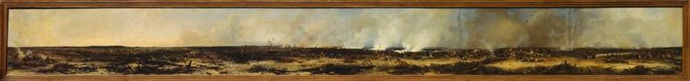 Панорама битвы при Москве реке 7 сент 1812 1835 1839 Ж-Ш Лангле Муз армии