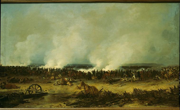 Панорама битвы при Москве реке 7 сент 1812 1835 1839 Ж-Ш Лангле Муз армии4