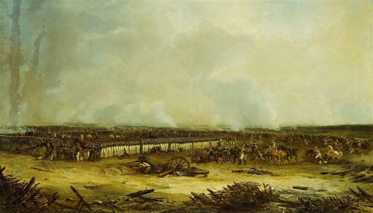 Панорама битвы при Москве реке 7 сент 1812 1835 1839 Ж-Ш Ланглуа Муз армии6