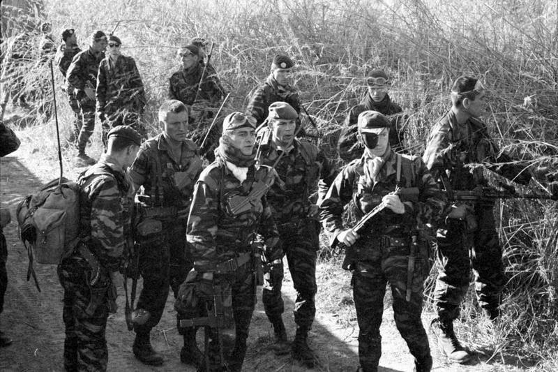 05 Операция Леопард Легионеры 2 РЕП патрулируют рег Катанда май июнь 1978