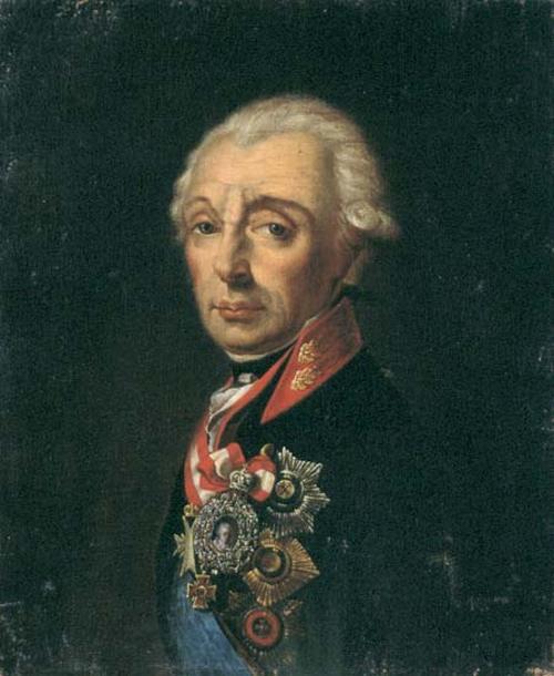 suvorov 1799 Крейцингер tip