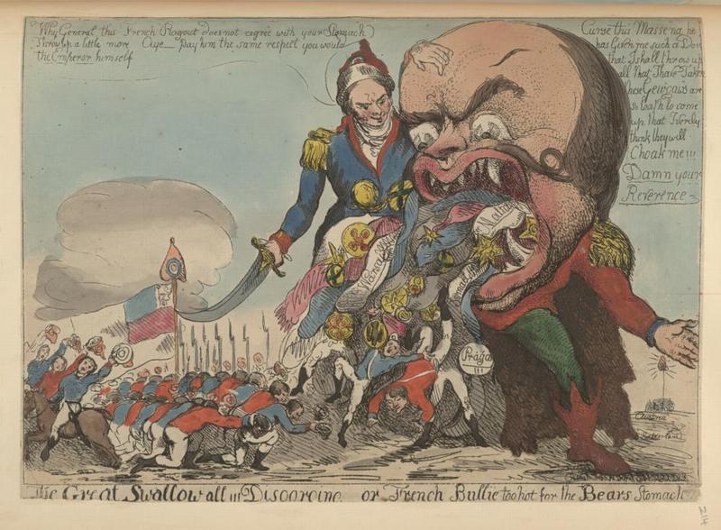 Великий суворовский дегоржаж или французские Булли слишком горячи для медв желудка 1799