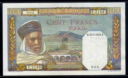 Algerie franc