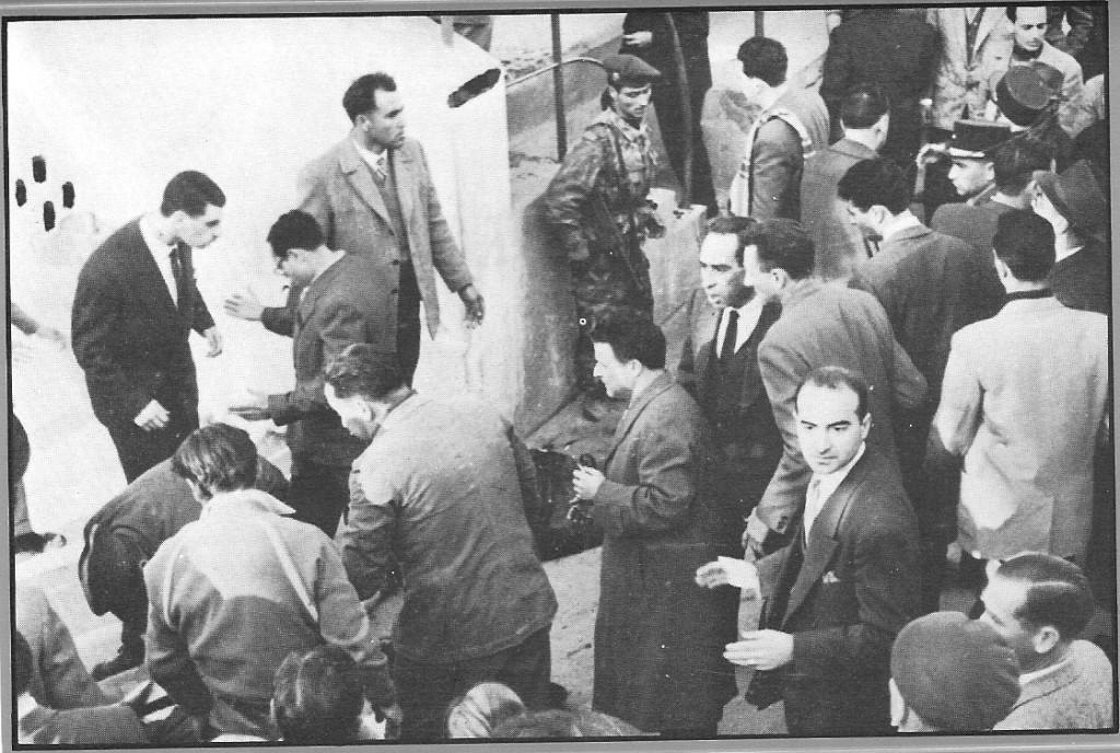 Бомбы на стадионе 12 февраля 1957