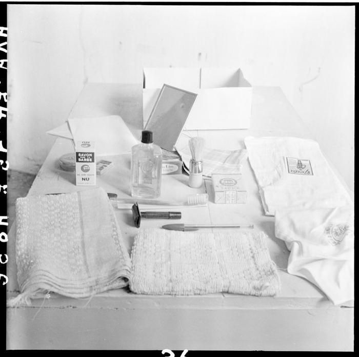 Содержимое посылок для осв пленных авг 1954 Ж Люссан