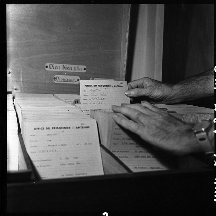 Личные карточки пленных авг 1954 Ж Люссан