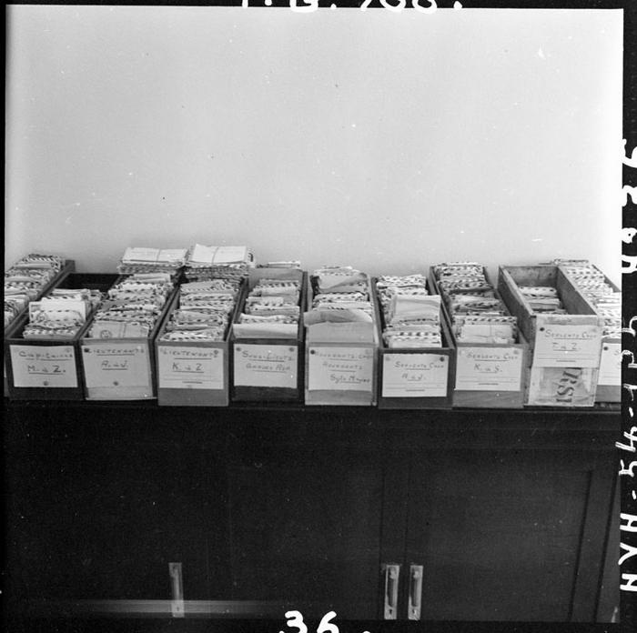 Письма разложеннеы по званиям и алфавиту авг 1954 Ж Люссан