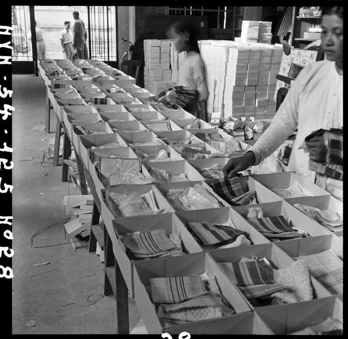 Подготовка посылок для осв закл авг 1954 Ж Люссан