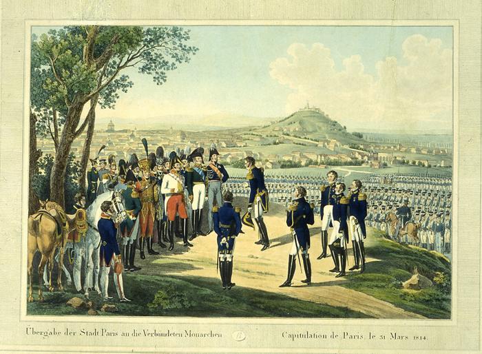 01Alexandre 1814 Капитуляция Парижа 31 марта 1814 г