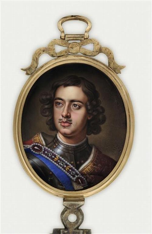 03 Портрет царя Петра Вел 18 в Неиз Лувр