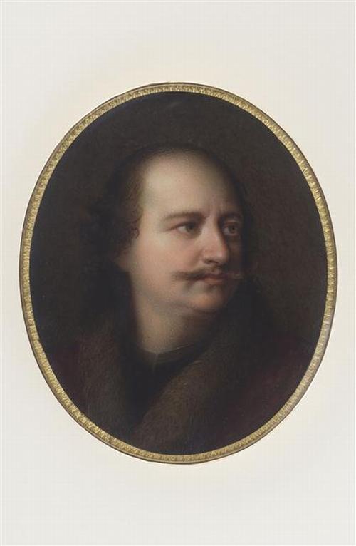 06 Портрет Петра вел 1833 М-В Жакото Jaquotot по ор гол худ Лувр
