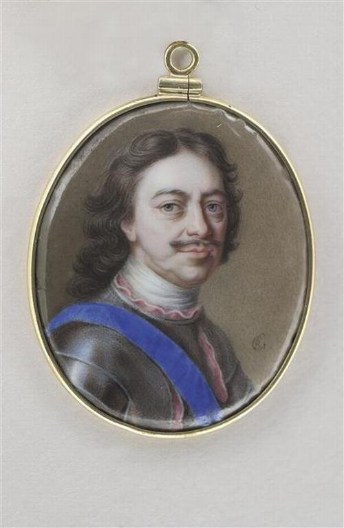 07 Портрет Петра Вел до 1727 Ш Буа Лувр