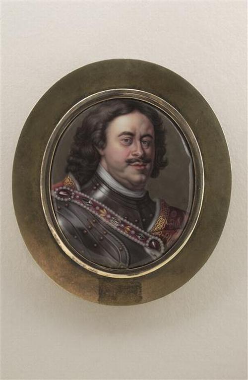 08 Портрет Петра Вел ок 1720 П Буа старший Лувр
