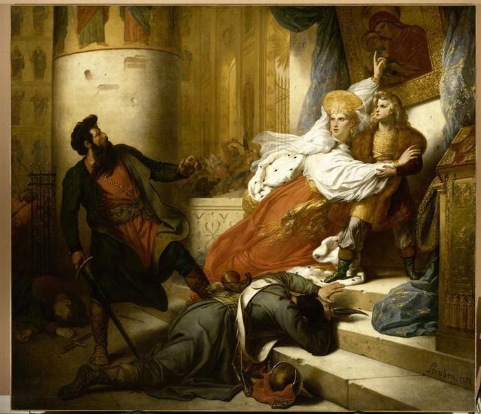 10 Случай из юности Петра Вел 1827 Ш де Стебен муз Из ис Валансьен