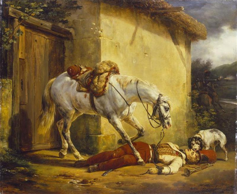 Убитый трубач 1819 О Верне Лонд кол wallace