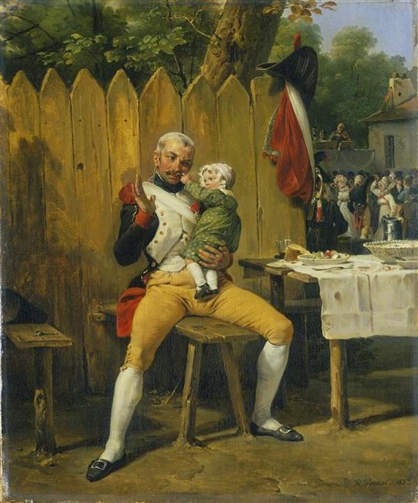 Ветеран дома 1823 О Верне лондон кол wallace