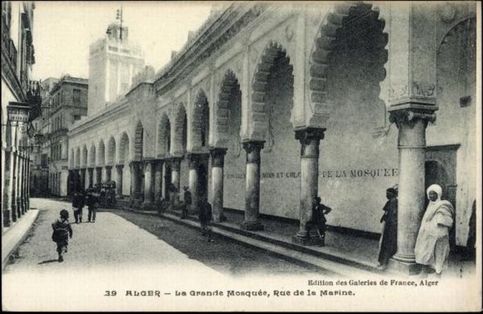 Алжир Большая мечеть