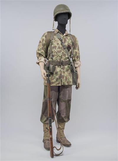 Солдат 3 батальона колониальных парашютистов 1952 муз арм