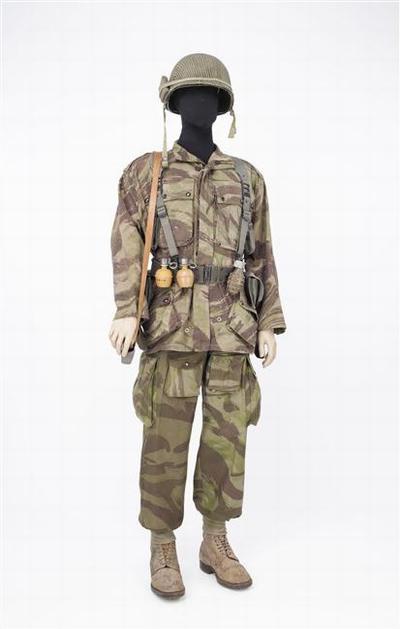 Солдат 3 парашютного вьетнамского батальона 1954 муз арм