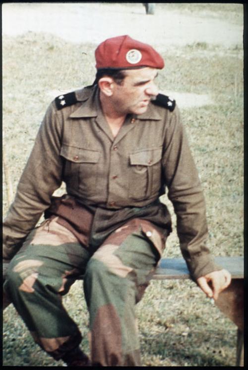 Генерал Жиль во воремя оп кастор нояб 1953 А Мошан