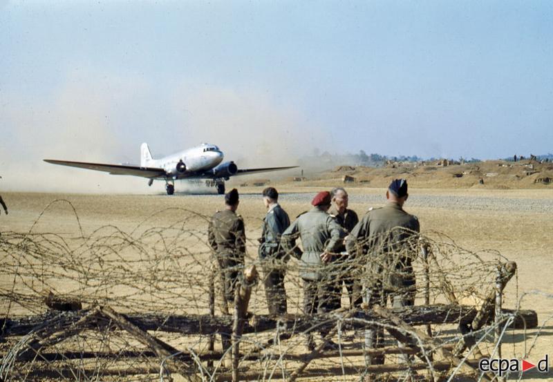 Аэродром в На Сане нояб дек 1952
