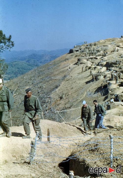 Вид на лагерь На Сан 13 дек 1952