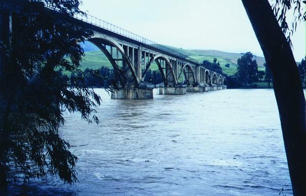 Мост Гюставен над уед Себау 08 06 1959 М Кольман
