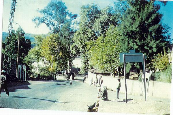 Центр деревни 1960