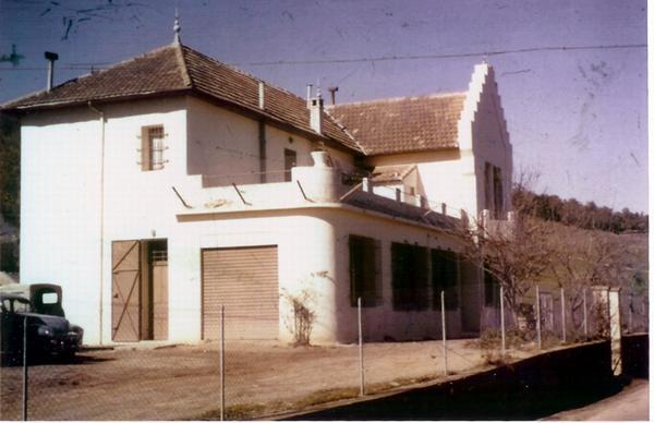 Бывший дом семьи Коффопе 1960